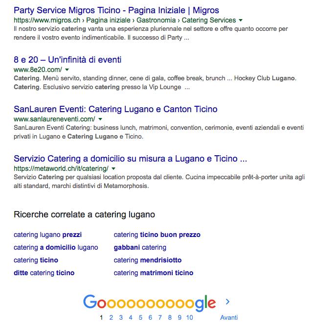 SERP example